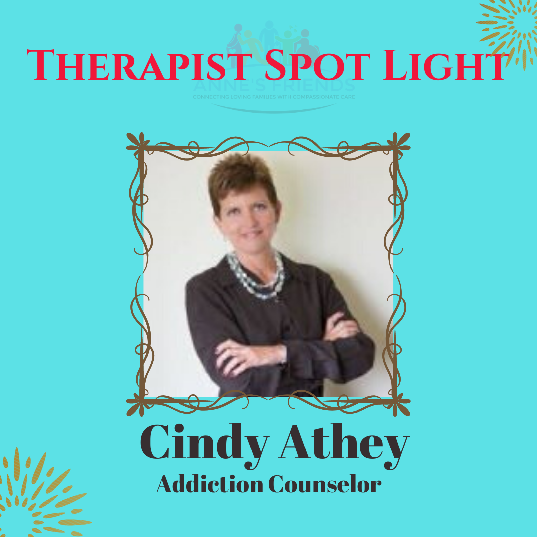 Spot Light Therapist – Cindy Athey