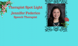 Therapist Spot Light – Jennifer Federico